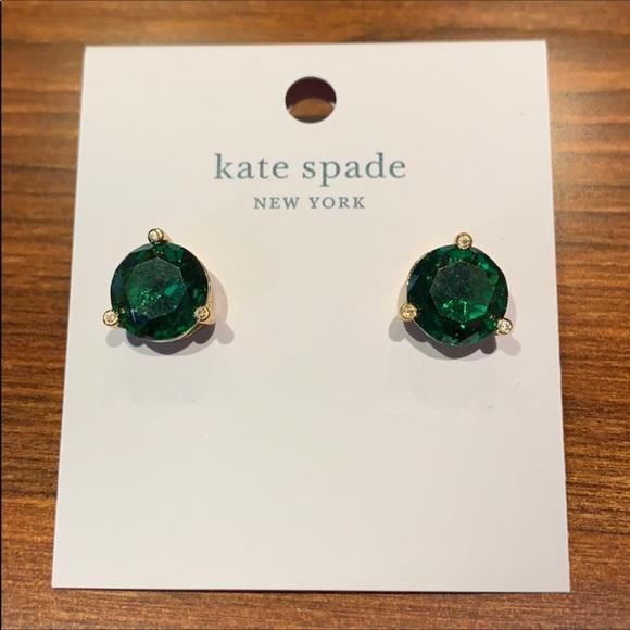 Kate Spade Emerald 💚 Stud Earrings